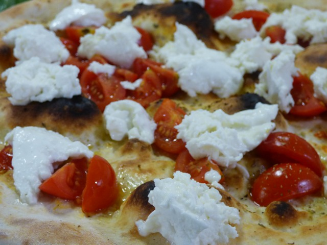 Pizza Pomodorini e Bufala